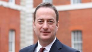 سفير بريطانيا لدى إسرائيل، ديفيد كواري. (British Embassy Israel)