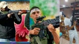 منشور على صفحة الفيسبوك الخاصة برجل فلسطيني يسكن في نتسيريت عيليت، يشيد فيه بمنفذي العمليات الانتحارية (Israel Police)