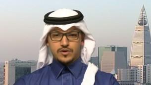 سلمان الأنصاري، رئيس لجنة شؤون العلاقات العامة الأمريكية السعودية، التي أنشئت حديثا في واشنطن (لقطة شاشة من  YouTube)