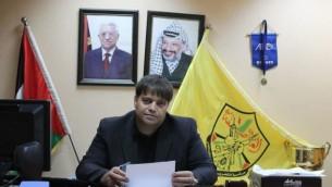النائب السابق في البرلمان الفلسطيني عن حركة فتح جهاد طملية (Facebook)