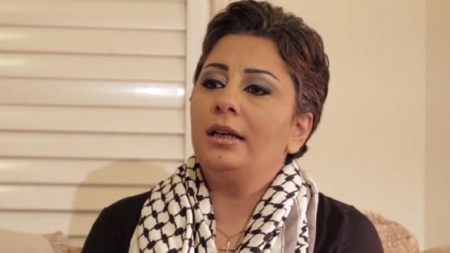 ساندرا سولومون، امراة فلسطينية اعتنقت المسيحية وناشطة من أجل إسرائيل. (لقطة شاشة)