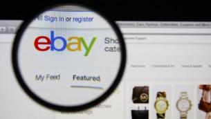 إيباي (ebay image via Shutterstock)