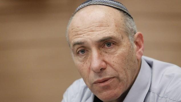 عضو الكنيست موتي يوغيف (البيت اليهودي).  (Miriam Alster/Flash90)