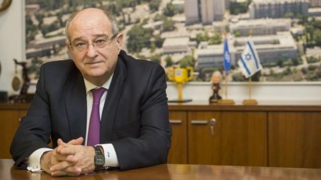 رئيس التخنيون، البروفسور بيرتس لافي.( Credit Nitzan Zohar: Office of the Spokesperson, Technion)
