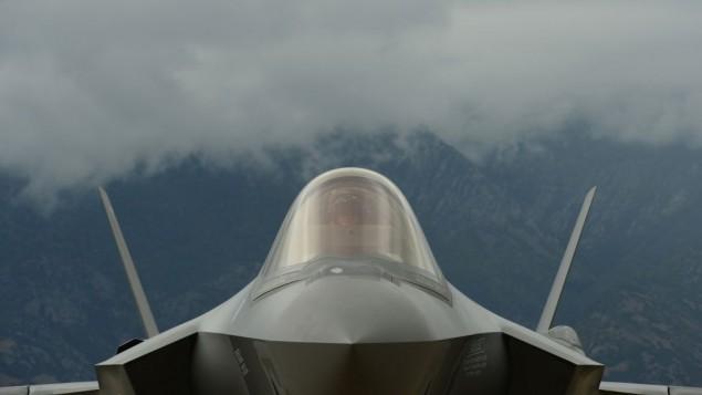 صورة توضيحية: صورة للطائرة المقاتلة من طراز 'إف-35'.(US DoD/Staff Sgt. Devin Doskey, U.S. Air Force/)