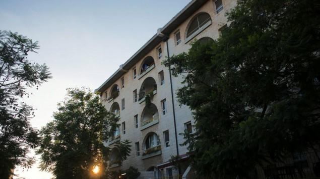 بيت 'طوفي هعير' لرعاية المسنين في القدس، 19 يوليو، 2013. (Rafi Letzter/Flash90)