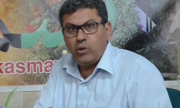 عادل عامر، الأمين العام للحزب الشيوعي الإسرائيلي. (YouTube)
