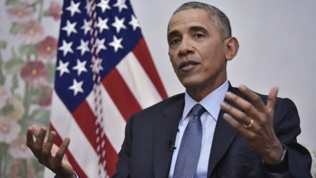 الرئيس الامريكي باراك اوباما خلال مقابلة في واشنطن، 6 يناير 2017 (Mandel Ngan / AFP)