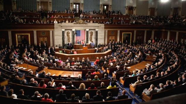 صورة توضيحية للكونغرس الامريكي بمجلسيه، 9 سبتمبر 2019 (Wikipedia/Lawrence Jackson/whitehouse.gov/public domain)