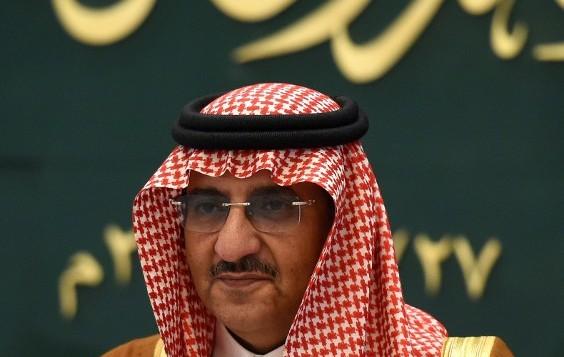 ولي العهد السعودي ووزير الداخلية الامير محمد بن نايف، 27 ابريل 2016 (FAYEZ NURELDINE / AFP)