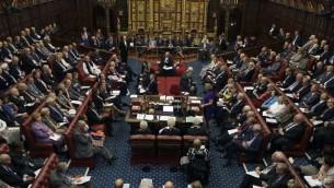 مجلس اللورات الربطاني في لندن، 5 سبتمبر 2016 (KIRSTY WIGGLESWORTH / POOL / AFP)