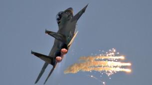 طائرة اسرائيلية من طراز اف 15 (Ofer Zidon/Flash90)