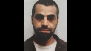 أنس حاج يحيى (35 عاما) مواطن عربي إسرائيلي متهم بالتخطيط لتنفيذ إعتداءات في إسرائيل بإسم تنظيم داعش. (Shin Bet)