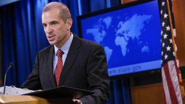 الناطق باسم وزارة الخارجية الامريكية مارك تونر، 7 مارس 2017 (AFP PHOTO / Mandel Ngan)