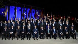المشاركين في اجتماع وزراء مالية ومدراء مصارف دول مجموعة العشرين في المانيا، 17 مارس 2017 (THOMAS KIENZLE / AFP)