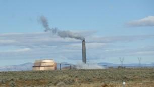 صورة توضيحية لمفاعل طاقة يعمل بالفحم في الولايات المتحدة، 28 مارس 2017 (George Frey/Getty Images/AFP)