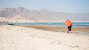 صورة توضيحية لسياح في شبه جزيرة سيناء المصرية، 16 اكتوبر 2016 (Johanna Geron/FLASH90)