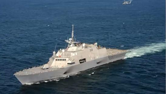 كورفيت 'ساعر 5' التابعة للبحرية الإسرائيلية. (YouTube screen capture)