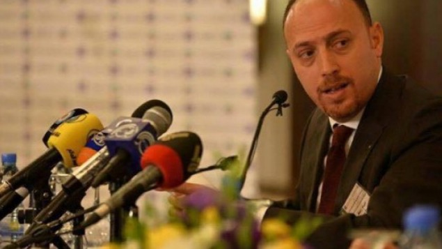 د. حسام زلموط، رئيسة البعثة العامة لمنظمة التحرير الفلسطينية لدى الولايات المتحدة. (Courtesy)