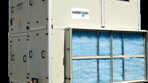مولد المياه الضخم لشركة 'ووتر جن'. (Courtesy Water Gen)