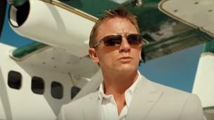 الممثل دانييل كريغ في دور جيمس بوند، صورة توضيحية (YouTube screenshot)