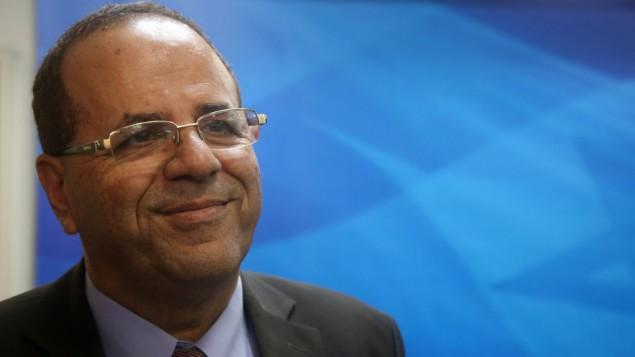 عضو الكنيست أيوم قرا (الليكود) يشارك في جلسة في ديوان رئيس الوزراء بينيامين نتنياهو في القدس، 30 ديسمبر، 2015. (Marc Israel Sellem/Pool)