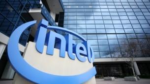 الحرم الجامعي لعملاق التكنولوجيا Intel في سانتا كلارا، كاليفورنيا. (AFP PHOTO / KIMIHIRO HOSHINO)