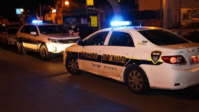 صورة توضيحية: مركبات للشرطة الإسرائيلية. (Moti Karelitz/Flash90)