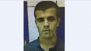 صورة  محمد أحمد عزام، مواطن كفر مندا الذي اعتقل في 6 يونيو / حزيران 2017 للاشتباه في سعيه للانضمام إلى الجماعة الجهادية لتنظيم الدولة الإسلامية. (Shin Bet Security Service)