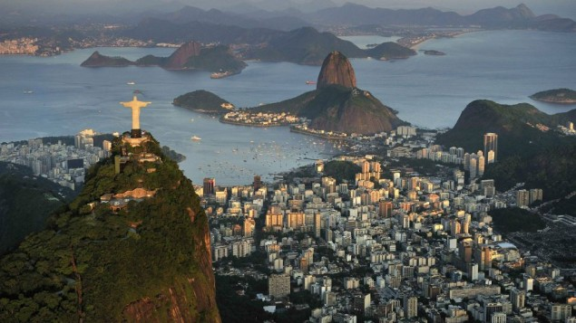 صورة توضيحية لريو دي جانيرو، البرازيل.