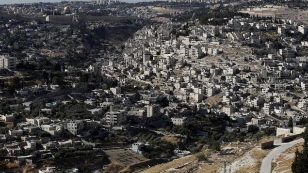 احياء القدس الشرقية، 31 مايو 2017 (AFP PHOTO / AHMAD GHARABLI)
