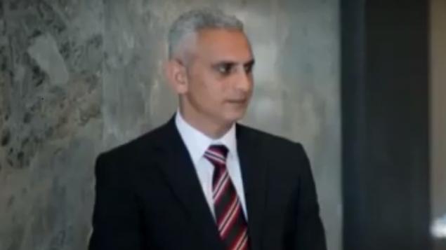مراسل الجزيرة الياس كرام خلال مقابلة عام 2016 (Screen capture: YouTube)