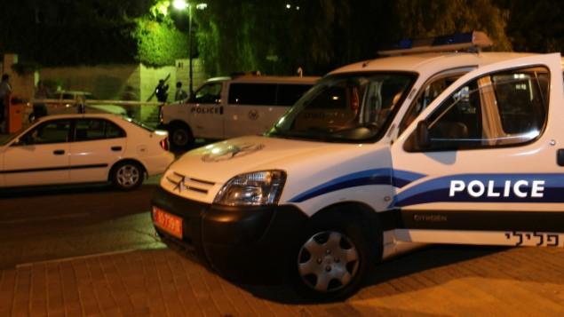 صورة توضيحية ليسارة تابعة للشرطة الإسرائيلية (Kobi Gideon/Flash90)
