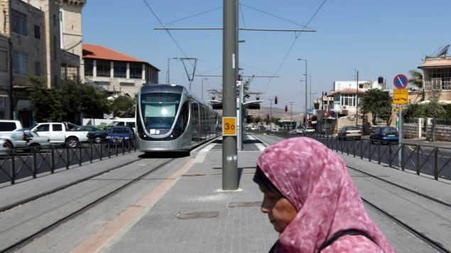 حي شعفاط في القدس الشرقية (Kobi Gideon/Flash90)