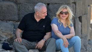 رئيس الوزراء بنيامين نتنياهو وزوجته سارة، 15 اغسطس 2017 (Kobi Gideon/GPO)