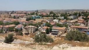 مستوطنة عيلي في وسط الضفة الغربية (Courtesy: Dror Etkes)