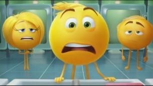 لقطة شاشة من فيلم ذي إموجي (الوجه التعبيري).