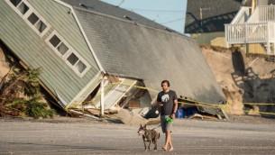 منزل دمره الاعصصار ايرما في فلوريدا، 13 سبتمبر 2017 (SEAN RAYFORD / GETTY IMAGES NORTH AMERICA / AFP)