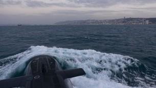 صورة للتوضيح: غواصة 'تكوما' التابعة لسلاح البحرية الإسرائيلي. (IDF Spokesperson's Unit)