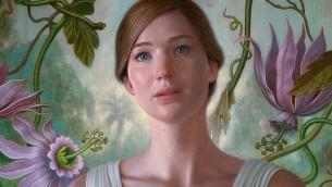 لمحة من ملصق ترويجي يصور جينيفر لورينس في فيلم دارين أونوفسكي 'أمومة!' (Courtesy)