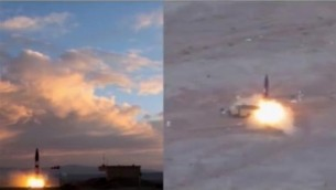 قالت إيران في 23 سبتمبر 2017 انها قامت بتجربة جديدة ناجحة لصاروخ مداه 2,000 كلم، ويمكنه وصول اسرائيل وقواعد امريكية في الخليج (Screenshot/PressTV)