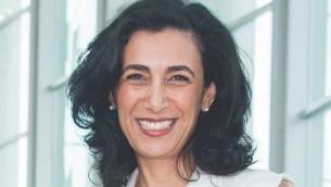 شارون نازريان نائبة الرئيس للشؤون الدولية في رابطة مكافحة التشهير، وتترأس أعمال المنظمة لمكافحة اللاسامية. (Courtesy of the ADL)
