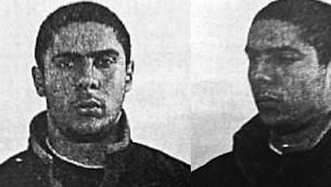 صور تم نشرها في 1 يونيو، 2014، لمهدي نموش (29 عاما حينذاك) المشتبه به في تنفيذ هجوم في 'المتحف اليهودي' في العاصمة البلجيكية بروكسل. (Photo credit: AFP)