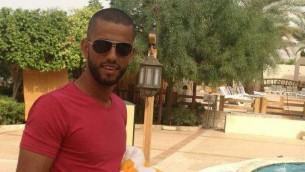 نمر محمود محمد الجمل، منفذ الهجوم في مستوطنة هار أدار يوم الثلاثاء، 26 سبتمبر، 2017. (Facebook)