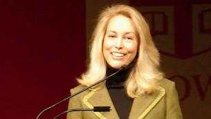 فالري بلايم ويلسون تقدم محاضرة حول كتابها في جامعة براون الامريكية، 4 ديسمبر 2007 (CC BY crystal.village, Flick)