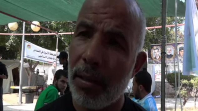 تم الإفراج عن توفيق أبو نعيم، رئيس قوات الأمن في غزة، في تبادل الأسرى مقابل شاليط عام 2011. (screen capture, YouTube)