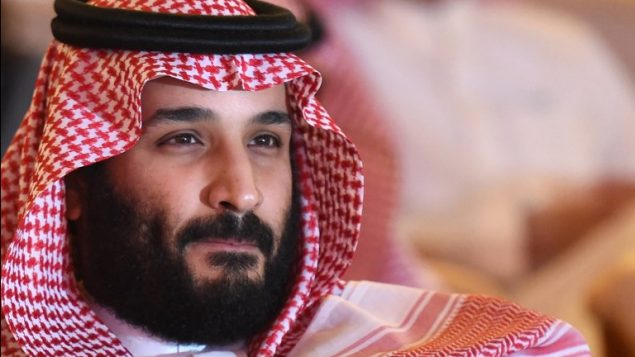 ولي العهد السعودي الأمير محمد بن سلمان يشارك في مؤتمر ل'مبادرة مستقبل الاستثمار ' (FII) في الرياض، 24 أكتوبر، 2017.  ( AFP PHOTO / FAYEZ NURELDINE)