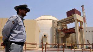 مفاعل نووي في بوشهر، جنوب ايران، 21 اغسطس 2010 (Iran International Photo Agency via Getty Images/via JTA/File)