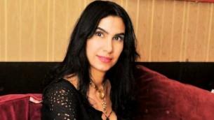 الباحثة العربية الاسرائيلية  التي تبحث محرقة اليهود أصفهان بهلول. (Doron Golan)