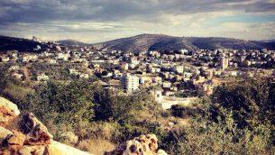 قرية سلفيت الفلسطينية في الضفة الغربية (CC BY-SA Anan.jalal, Wikimedia Commons)